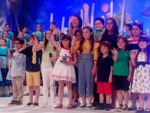 Solistas do 36 festival da Canção Infantil da Ma