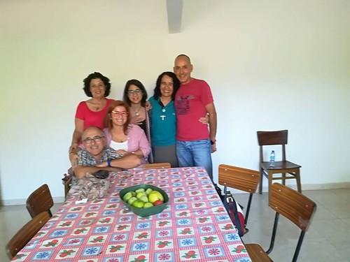 Almoço em casa com irmã Rosineide