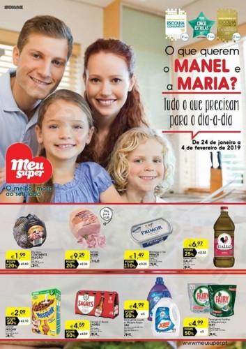 Antevisão Folheto MEU SUPER Promoções de 24 jan