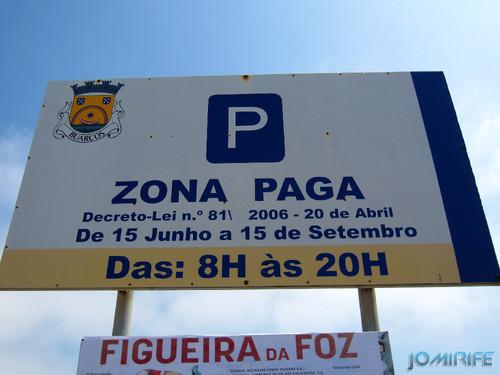 Figueira da Foz: Estacionamento de Carros no Parque da Praia de Buarcos é pago todos os dias no verão (4) Época paga [en] Car Park in the park of the beach in Buarcos is paid every day