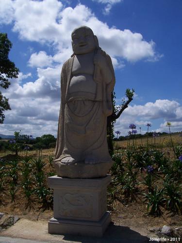Jardim Buddha Eden - Estátua