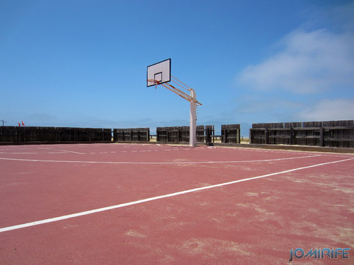 Campos de praia da Figueira da Foz / Buarcos #7 - Basquetebol (4) [en] Game fields on the beach of Figueira da Foz / Buarcos - Basketball