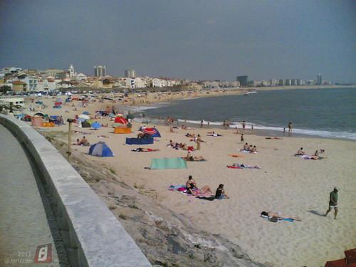 Praia em Buarcos quase cheia (2011-06-05)