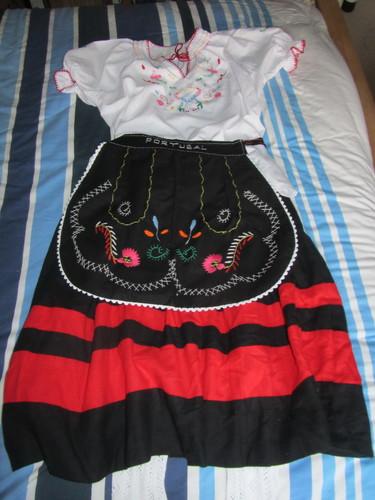 Um traje Português