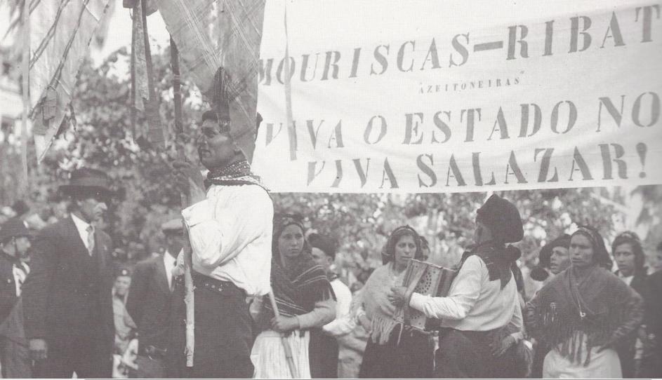 mouriscas desfile maio 37 lisboa portugal século
