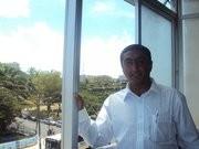 Presidente e treinador do Benfica de Nampula Abdul Hanane