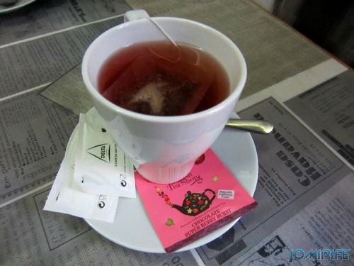 Chá de Chocolate e Berry | Chocolate e Berry