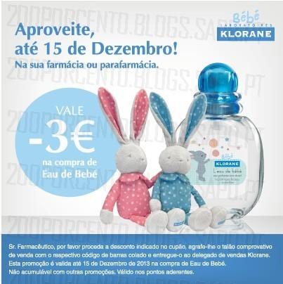 Aproveite este desconto até 15 de Dezembro, na sua farmácia ou parafarmácia.