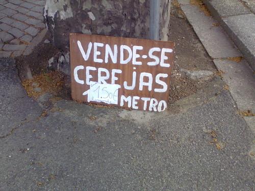 Cerejas a metro, Santo Tirso (J.A.Alves Pereira, 2012)