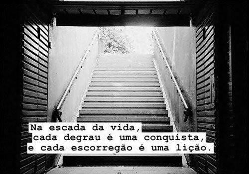 a escada da vida