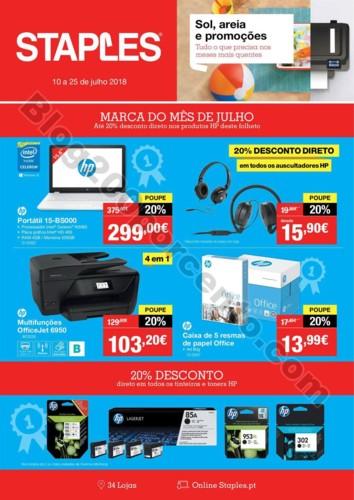 Antevisão Folheto STAPLES Promoções de 10 a 25