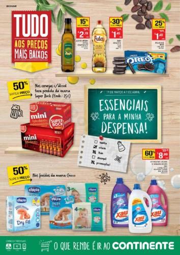 Antevisão Folheto CONTINENTE Extra Despensa promo