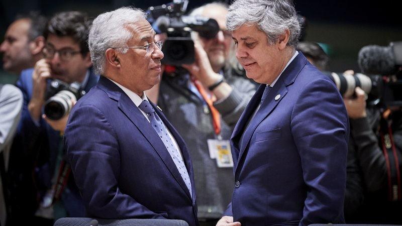António-Costa-e-Mário-Centeno-na-reunião-do-
