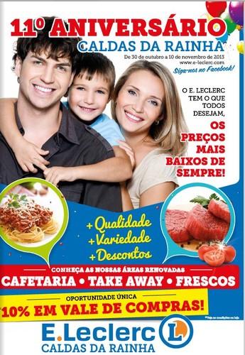Novo folheto | E-LECLERC | Caldas da Rainha, de 30 outubro a 10 novembro