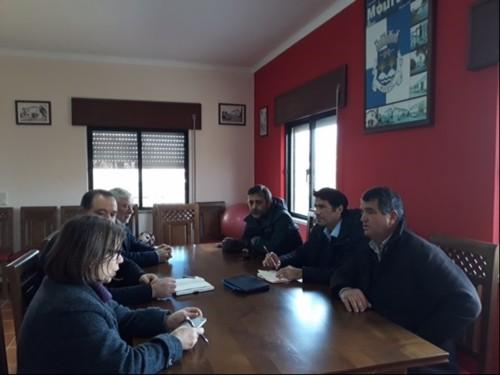 Reunião União Freguesias Mouraz Vila Nova da Rai