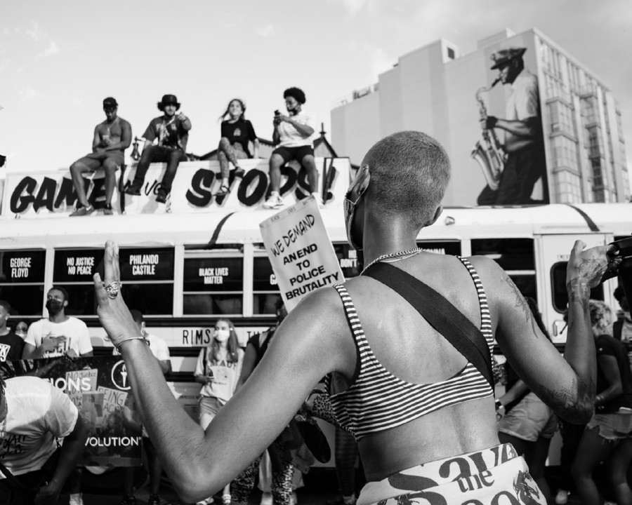 1 The Beautiful. BLM March Washington D.C. 2020 ©