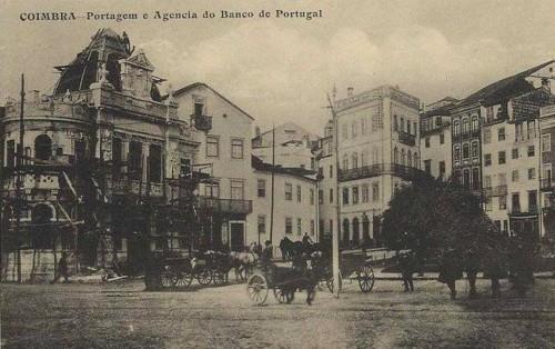 Fig. 10 - A Agência do Banco de Portugal em fase