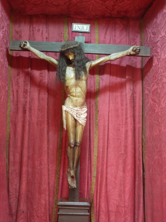 Igreja de Santa Justa, a imagem do Santo Cristo do