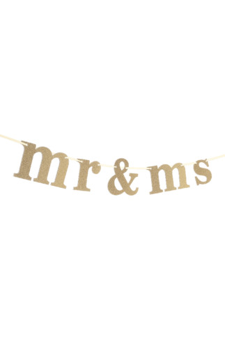 Kimball-5260201-bunting mr and Mrs gold, grade mis