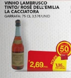 Acumulação 75% Desconto | CONTINENTE | Vinhos Estrangeiros, de 22 a 31 Outubro