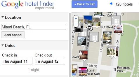 Encontrar hotéis com o google - netviagens