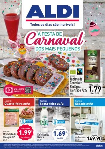 Antevisão Folheto ALDI Promoções a partir de 20