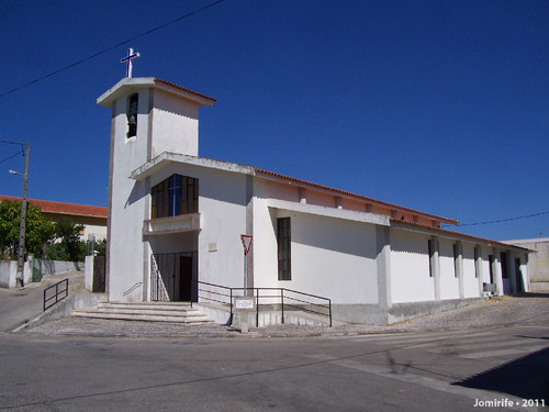 Igreja no Casal do Rato, Figueira Da Foz, Portugal