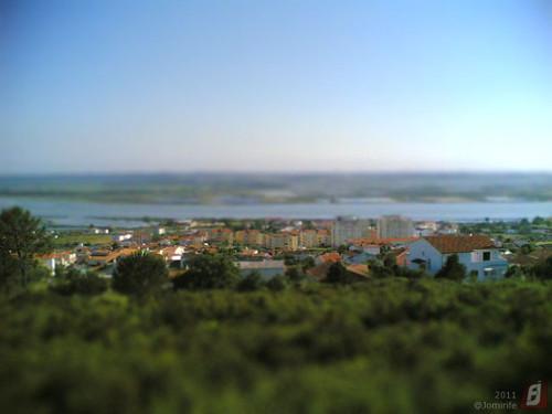 Efeito Miniatura: Vista de Vila Verde (Fig.Foz)