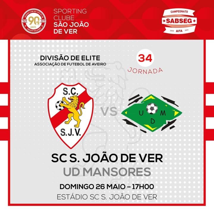 Seniores SC S João de Ver