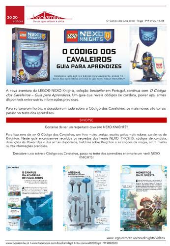 Press Lego Nexo Knights_O C├│digo dos Cavaleir