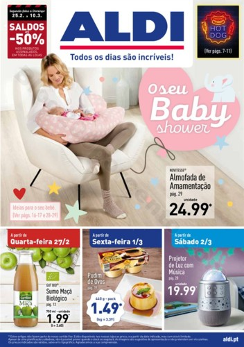 Antevisão Folheto ALDI Promoções a partir de 27