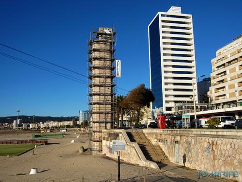 Figueira da Foz: Torre do relógio de praia vai ter obras - Vista e Sweet Hotel Atlantic