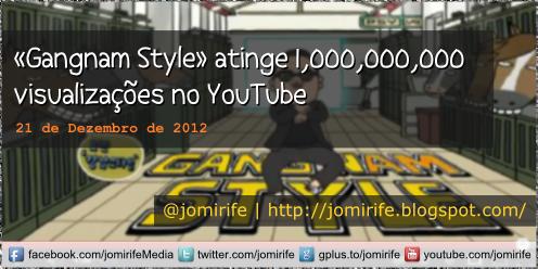 Blog Post: Gangnam Style atinge mil milhes