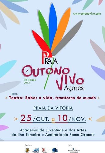 Mais uma edição do Outono Vivo, na Praia da Vitória...