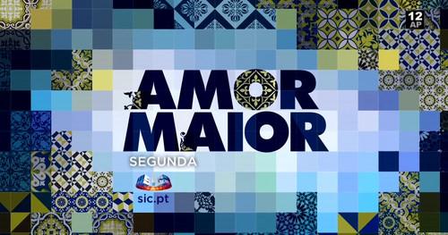 logo promo dia 16 de janeiro Amor Maior