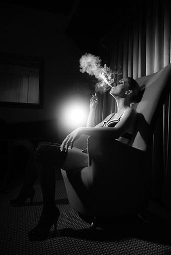 Deixar de fumar não realmente