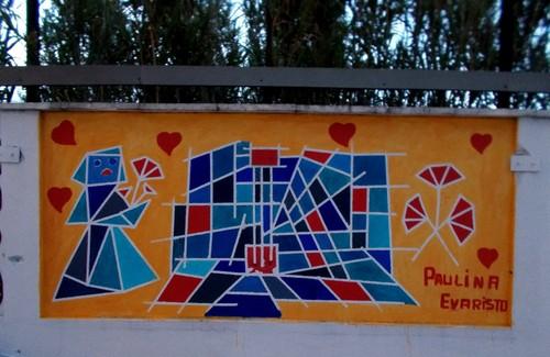 Urban Art - A Revolução, Praça 25 de Abril, Lisboa