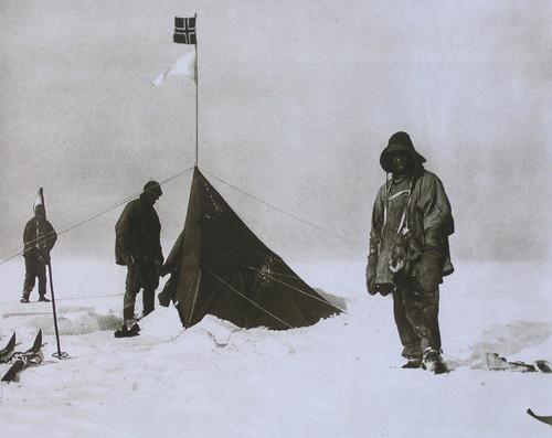Primeira expedição para alcançar o Polo Sul