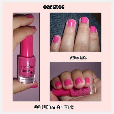 Verniz Essence Ultimate Pink