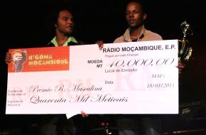 premiação gala ngoma 2010