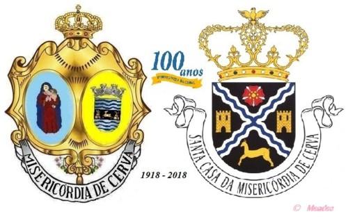 Vila de Cerva - Misericordia de Cerva - 100 Anos.j