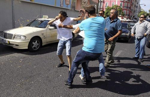 Manifestação taxistas