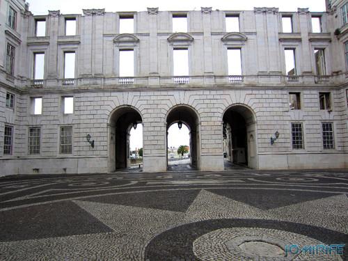 Lisboa - Palácio Nacional da Ajuda - Pátio (2) [en] Lisbon - Ajuda National Palace - Courtyard