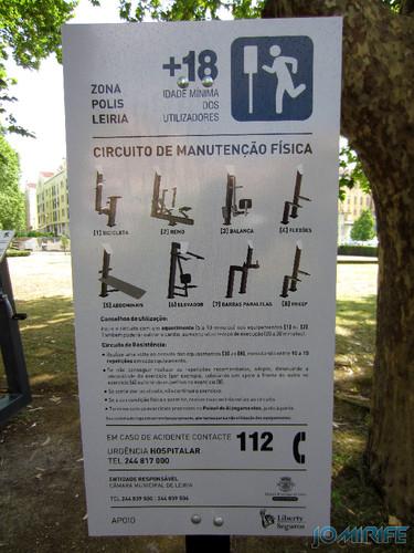 Jardim do Polis Leiria (Centro) - Circuito de Manutenção Física (2) [en] Polis Garden of Leiria, Portugal
