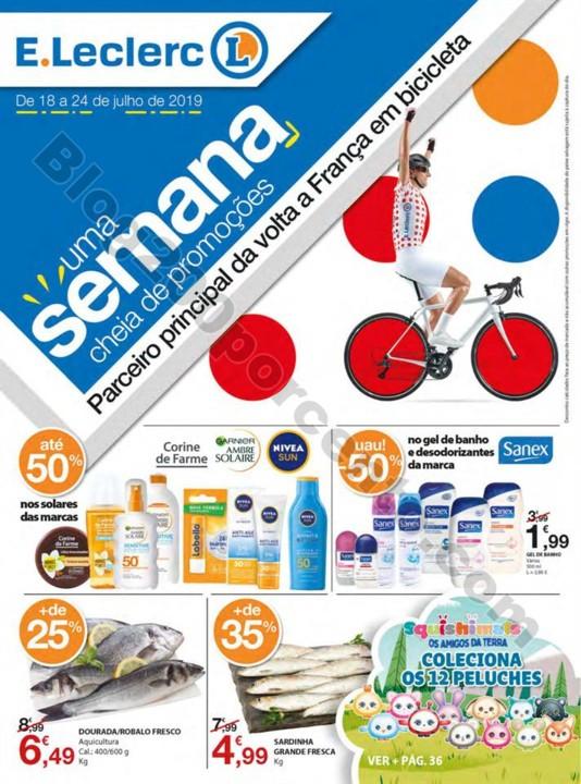 Antevisão Folheto E-LECLERC Promoções de 18 a 2