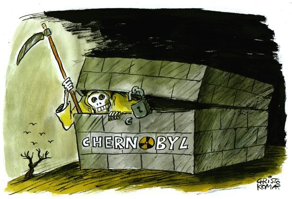 Chernobil, cartoon, chernobyl