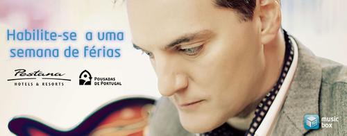 Miguel Ângelo e Music Box oferecem uma semana num hotel ou pousada do Grupo Pestana