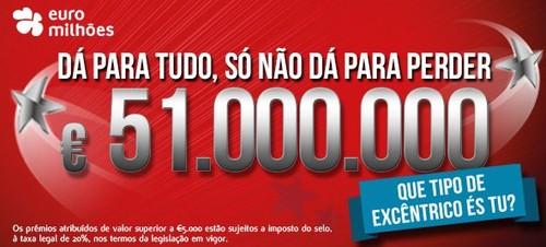 Passatempo Ganha até 1 Milhão de Euros   200%  