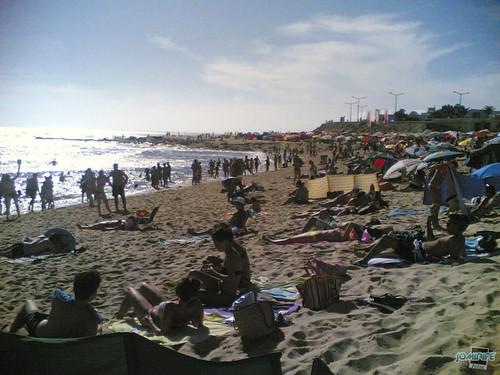Praia de Buarcos em Agosto (Figueira da Foz)