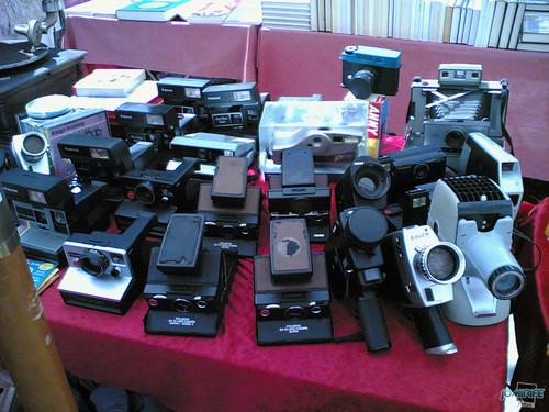 Máquinas antigas de fotografia e filmar (2)